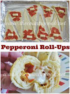 Pepperoni Roll-Ups