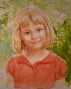 Custom watercolor portrait painting by ArchetypalTheatre on Etsy,