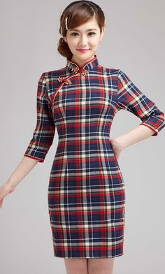 Shop 1930's chinese school uniform qipao dress. Find latest oriental fashion products from idreammart.com.