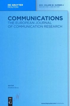 Communications [Impreso] : the European journal of communication research