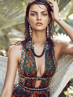 Cosmopolitan June 2016 Welcome To The Jungle Makeup by Beau Nelson Photography by Max Abadian Model: Barbara Fialho, The Lions NY  This might be the most inspirational shot ever