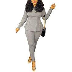 Amazon.com: UONBOX Women's Cut Out 2 Pieces Slim Fit Blazer Jacket Pants Suit Set (XS, Black2): Clothing Bodycon Fashion, Blazer Fashion, Blazer Jacket, Blazer Suit, Black And White Suit, Fall Outfits, Casual Outfits, 2 Piece Outfits, Business Outfits