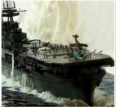 US aircraft carrier, WWII.