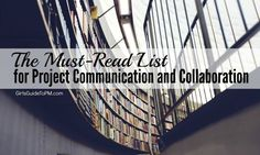 The best project communication and collaboration books