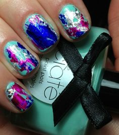 Nails by an OPI Addict: A Very Colourfoil Manicure