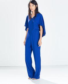 Jumpsuit, $119, Zara
