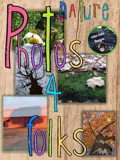 This photo bundle by Wild Child Designs includes 19 jpeg images representing all four seasons. It's perfect for backgrounds for classroom projects as well as your own TPT products. It's priced right at less than $0.25 a photo!