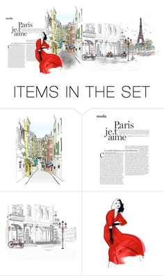 """Paris"" by mljilina ❤ liked on Polyvore featuring art"