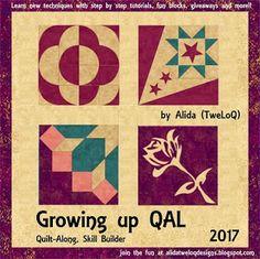 A new QAL for 2017 | Alida (tweloq) Designs