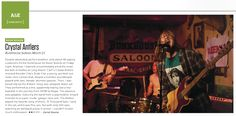 My Crystal Antlers image from Neon Reverb Festival as seen in this week's Vegas Seven magazine.