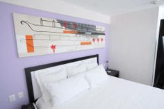 Simple, modern and chic...that's what Caché Hotel Boutique is!