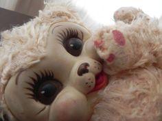 VTG Rushton Rubber Face Bunny Rabbit Gund Stuffed Plush Animal #Rushton