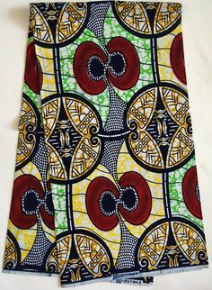 A personal favorite from my Etsy shop https://www.etsy.com/listing/520367274/african-print-fabric-ankara-red-green