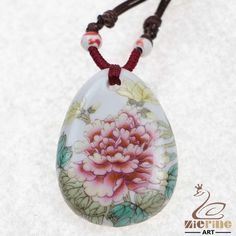JEWELRY NECKLACE CERAMICS  NECKLACE PENDANT ZN80 00795 #ZL #Jewelryset