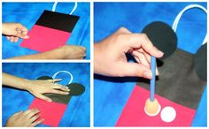 Mickey Mouse Treat Bag - Thinking I may need to try this or something similar