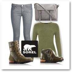 Sorel Style by patricia-dimmick on Polyvore featuring George J. Love, SOREL, Boots and sorelstyle