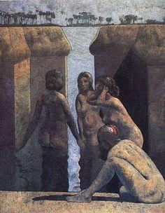 Armando Morales Claude Bernard, Wolf, Latin Artists, Museum Of Modern Art, Figurative Art, American Art, Art Forms, Original Artwork, Art Gallery