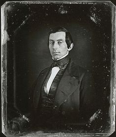 Earliest known photo of Abraham Lincoln. c. 1840