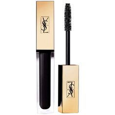 Yves Saint Laurent Beaute Vinyl Couture Mascara ($29) ❤ liked on Polyvore featuring beauty products, makeup, eye makeup, mascara, black, filler, yves saint laurent mascara and yves saint laurent