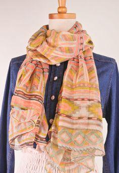 light scarves for fall