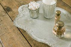 Decorative Tin Tray
