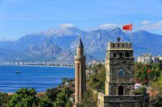 Antalya Castle #holiday #travel #antalya #turkey