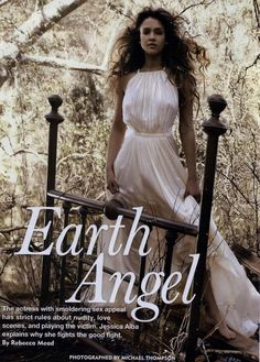 Allure Editorial Earth Angel, August 2011 Shot #1