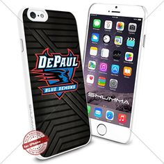 "NCAA DePaul Blue Demons iPhone 6 4.7"" Case Cover Protector for iPhone 6 TPU Rubber Case White SHUMMA http://www.amazon.com/dp/B0176HWHBE/ref=cm_sw_r_pi_dp_T4LTwb153B287"