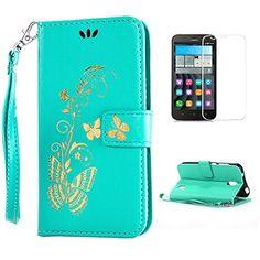 Yrisen 2in 1 Huawei Y625 Tasche Hülle Wallet Case Schutzh…