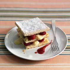 Raspberry Napoleons Recipe   Food Recipes - Yahoo Shine