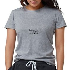 feminist werewolf shirt