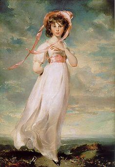 "Thomas Lawrence, 1769-1830  Sarah Goodin Barrett Moulton: ""Pinkie"""