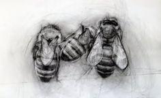 three bees ~ April Coppini
