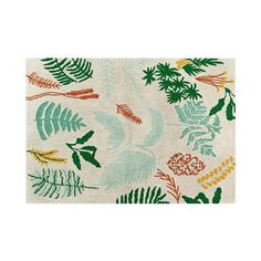 Bring the outside in with our Botanic Plants rug. It looks great (rain or shine!) in a sunroom, porch, living room, kid's room, or bedroom.            Size: 4' 7'' x 6' 7''  100% Cotton.    Machine-washable: easy to wash, it can be washed at home in a conventional washing machine.  Handmade: carefully and individually handmade by our artisans.  Eco-friendly: 100% natural cotton and non-toxic dyes.  Light: thanks to its soft and flexible composition.  Easy to matc...