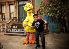 "Mitt Romney is picking on PBS and Big Bird and it is causing quite a backlash. This Twitter posting by Matt Ortega says it all, ""I Like Big Bird"" and ""I also like firing Big Bird.""...http://blackberrycastlephotographytm.zenfolio.com/p686239116/h143570b1#h143570b1"