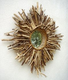 Large Baja Sunburst Style Mirror, available to purchase from Cottage & Bungalow