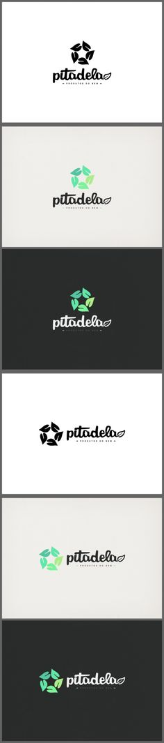 Pitadela Logo,  Branding, Circle, Green, Identity, Leaf, Logo