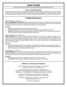 Free Nurse Practitioner Cover Letter Sample   Http://www.resumecareer.info