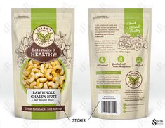 DesignerPeople Design Agency is a Delhi-NCR based award-winning design company who offer custom premium dry fruits packaging design solutions in India. Packaging Snack, Spices Packaging, Food Packaging Design, Packaging Design Inspiration, Brand Packaging, Granola, Vegetable Packaging, Dried Fruit, Nutrition