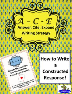 ace method writing