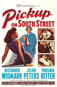 """Classic 50s Movie: """"Pickup on South Street""""   Go Into The Story"""