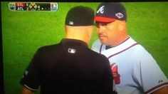 Atlanta Braves was called Infield Fly Rule on the 8th inning against the Cardinals NL Wild Card 2012.
