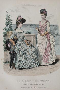 la mode illustrée, 1888
