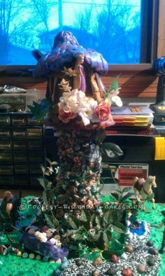Coolest Tower from the Disney Movie Tangled Cake... This website is the Pinterest of birthday cake ideas