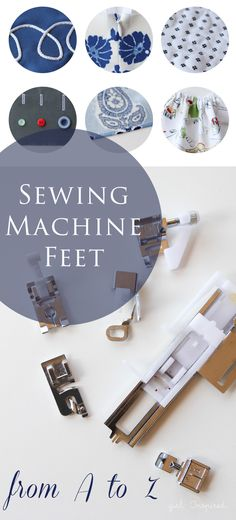 A review of the FREE Sewing Machine Feet from A to Z class offered by Craftsy.