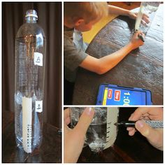 Relentlessly Fun, Deceptively Educational: How to Make a Water Clock Science Fair Projects, Science Ideas, Activity Ideas, History Activities, Kid Activities, Water Clock, How To Make Water, Clock For Kids, Diy Clock