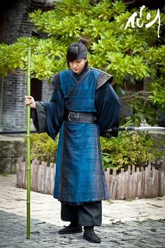 Lee Min Ho ♡ #Kdrama #Fashion I gotta point out this outfit is so similar to what the Minbari wear so the Korean clothes from the1300's must have inspired the costume designers for Babylon 5