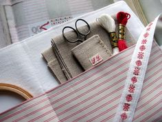 A Stitching Organizer -- Inside by petits détails, via Flickr