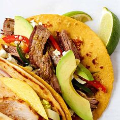 Spicy Beef Tacos - FamilyCircle.com