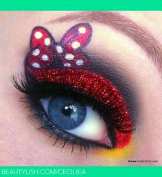 You want big, bright eyes, like your childhood heroine & # s . You want big, bright eyes like your childhood heroine & # Sailor Moon & # With fake lashes and lots of blush, this look will make you … Disney Eye Makeup, Disney Inspired Makeup, Eye Makeup Art, Eye Art, Beauty Makeup, Makeup Style, Movie Makeup, Fairy Makeup, Mermaid Makeup